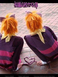 Ouran High School Host Club Cosplay - Hikaru and Kaoru Hitachiin