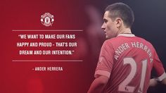 Ander Herrera Soccer Quotes, Manchester United, The Unit, Football, Graphics, Posts, Twitter, Life, Man United
