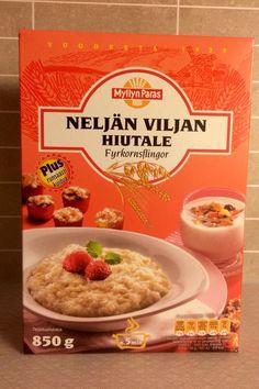 Neljän viljan hiutale.. Finland, Sweets, Bread, Classic, Food, Sweet Pastries, Meal, Goodies, Brot