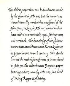 The Society for Italic Handwriting - Exemplars