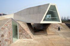 Sala de Exhibiciones, Jinhua Architecture Park - Tatiana Bilbao mx.a / Tatiana…