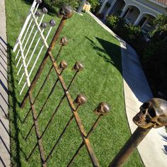 DAVE LOWE DESIGN the Blog: October 2014 - Creepy Cemetery fence on The Hallmark Channel