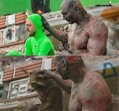 35 Movie Scenes With And Without CGI. Movies with visual effects look so realistic. Movies without visual effects look even more realistic. Ms Marvel, Marvel Avengers, Avengers Characters, Green Screen Photo, Videos Kawaii, Movie Shots, Marvel Memes, Book Photography, Funny Memes