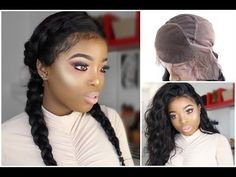 HOW TO: SEW IN A 360 LACE BAND FRONTAL AND MAKE A WIG ( ALIEXPRESS HOT BEAUTY HAIR) - YouTube
