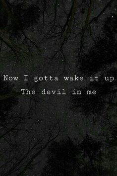 Devil in me - Halsey lyrics