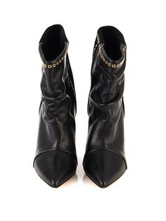Isabel Marant Lance suede and leather ankle boots
