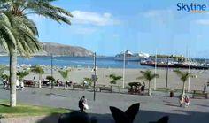 Live Webcam Playa de Los Cristianos - Tenerife