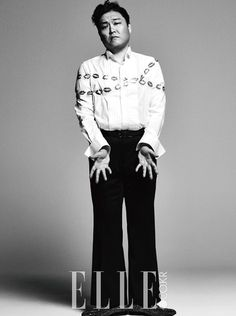 PSY is Featured Inside the Cover of Elle Magazine Psy Daddy, Eddy Kim, Solo Male, Bi Rain, Fandom, Elle Magazine, Korean Model, Bigbang, Rapper