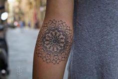 Large Forearm Mandala Tattoo Ideas at MyBodiArt