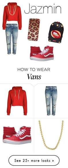 """Untitled #196"" by leandralevy on Polyvore featuring Vans, Boohoo and Sterling Essentials"