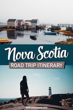 Check out our guide to the perfect Nova Scotia Road trip and how to spend 7 days in Nova Scotia visiting charming seaside villages to natural wonders of the world! Nova Scotia Travel, Toronto, Columbia, East Coast Road Trip, Seaside Village, Road Trip Hacks, Prince Edward Island, Canada Travel, Canada Trip
