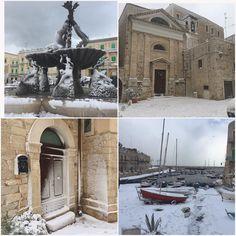Oggi così ❄️☃️🏂🎿⛷💙#neve #snow #igers #igerspuglia #igersitalia #giovinazzo #sud #gennaio #sabato #ioamolaneve