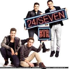 Big Time Rush 24/Seven Album Photo Shoot