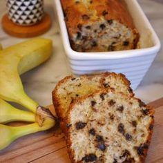 Banana bread healthy pépites de chocolat - Comment j'ai changé de vie