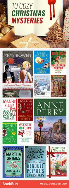 Curl up over the holidays with these cozy mystery books to read next.