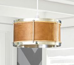 easy to make- Drum Snare Pendant Lamp