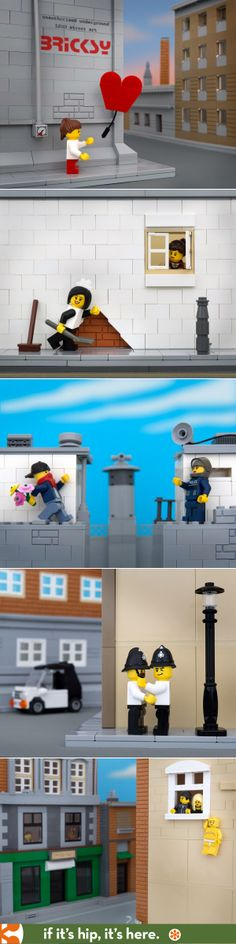 Bricksy: Banksy's work recreated in Lego See all 20 at http://tinyurl.com/lpcsgnl