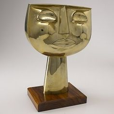 Oswaldo Guayasamin, bronze sculpture