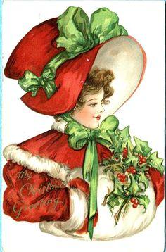 Коллекционные рождественские и новогодние открытки — неисчерпаемый источник вдохновения - Ярмарка Мастеров - ручная работа, handmade