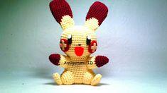 Amigurumi Plusle Pokemon: Free Pattern