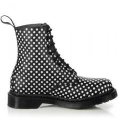 quality design 2943d 6a82a Dr Martens kängor 1460 Svartvit Pascal On Sale , Billiga Dr Martens skor  1460 försäljning ,