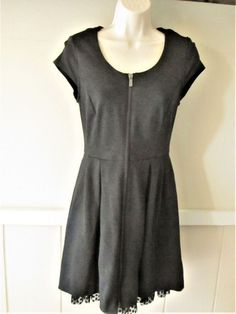 NEW LADIES EX SIMPLY BE BLACK FLORAL BOHO SHORT SLEEVED SKATER DRESS TUNIC SZ 14