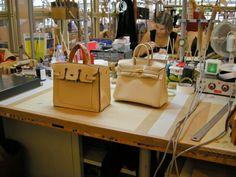 handmade inspired hermes birkin