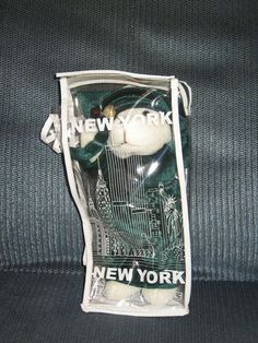 New York TEDDY BEAR Statue of Liberty Plush