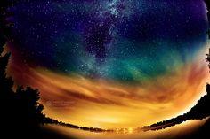 Magical night by Dariusz Lakomy, via 500px