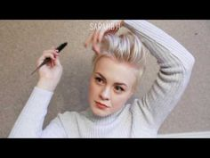 Curly Pixie Cut Hairstyles / Formal & Bridal - YouTube