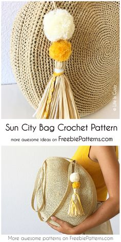 crochet bag Sun City Bag - Free Chrochet Pattern - Hi, today I have for the Sun City Bag Pattern! Sun City Bag – Free Chrochet Pattern Sun City Bag – Free Chrochet Pattern Source by The post Sun City Bag – Free Chrochet Pattern appeared first on The Crochet Diy, Crochet Gratis, Crochet Ideas, Crochet Handbags, Crochet Purses, Crochet Bags, Free Crochet Bag, Crochet Clutch, Crochet Purse Patterns