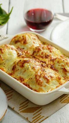 Stuffed Potato Ball Casserole ~ Recipe | Tastemade