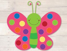 Butterfly Pom Pom Mats by Busy Little Bugs Preschool Learning Activities, Toddler Activities, Preschool Activities, Preschool Worksheets, Toddler Color Learning, Learning Colors, Crafts For Seniors, Crafts For Kids, Pom Pom Mat