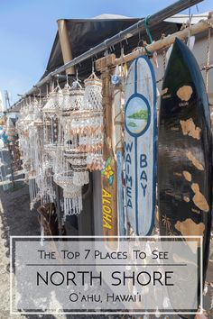 Top 7 Places To See In The North Shore | Get your adventure on at one of the most iconic destinations in Hawaii - dole whip included.