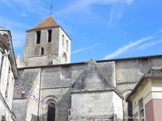 L'église Saint Mathias, Barbezieux, Charente, Dept 16.