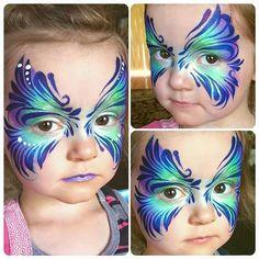 Kat Nelson    swirly mask