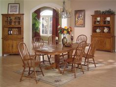 Oak Dining Room Table Pertaining to Encourage