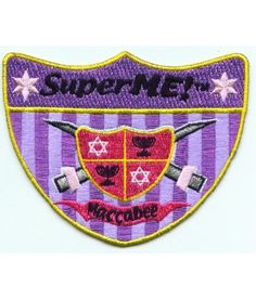 Maccabee Patch, Girl Availability: In stock  $5.00 Just in time for Chanukah, the Maccabee patch tells the story of the Maccabees, historic superheros and the miracle of Channukah.