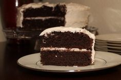 Aleas Gluten-Free Chocolate Cake Recipe- try substituting the butter and eggs