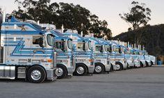 Australian Truck Show! Causley Transports Kenworth Trucks | Dream ...