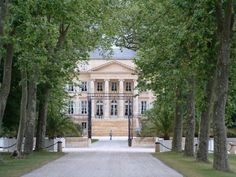 Chateau Margaux in Bordeaux, France wineries