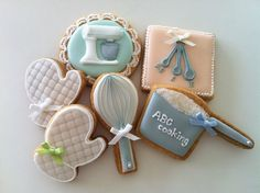Kitchen tool cookies
