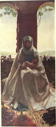 The Morning Of The Nativity (poss. Frank Cadogan Cowper)