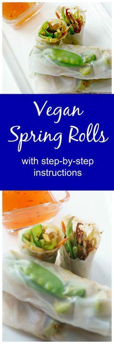 Vegan Spring Rolls:
