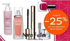 Nocibé promotion : jusqu'à 25% de remise #nocibé #maquillage #parfum #soin #accessoire #beauté #rentrée #plaisir