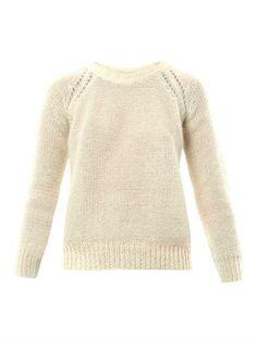 Isabel Marant Étoile Fews mohair-knit sweater (162022)