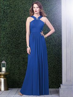 Dessy Collection Style 2917  Sample: Sapphire, size 12 $$$$