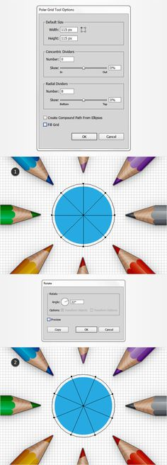 How to Create a Detailed Pencils Illustration in Adobe Illustrator