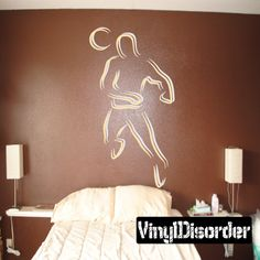 Soccer Wall Decal - Vinyl Sticker - Car Sticker - Die Cut Sticker - CDSCOLOR051