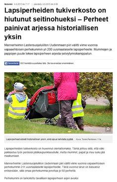 MLL:n Uudenmaan piiri etsii uusia perhekummeja Uudellamaalla. YLE Uutisten verkkojuttu 4.9.2015.
